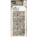 THS104 Stampers Anonymous Tim Holtz Layering Stencil - Thatched